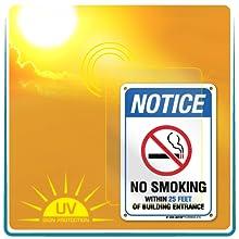 sun fade proof aluminum signs