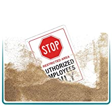 DUST AND SCRATCH PROOF SIGNS
