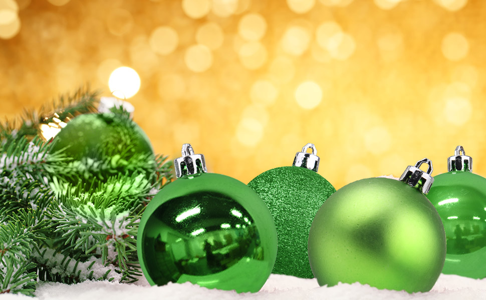 christmas ball - Green Christmas Tree Decorations
