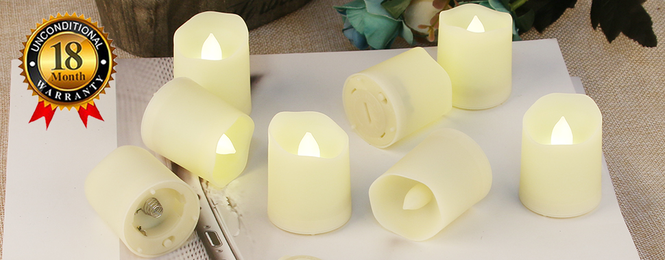 Amazon Com Flameless Candles With Remote Votive Candles