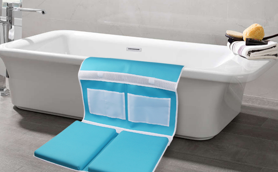 Amazon.com : Bath Kneeler and Elbow Rest Bathtub Kneeling Pad with ...