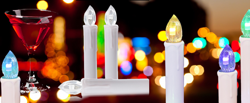 Amazon Com 10pcs Window Candles Battery Operated Candles