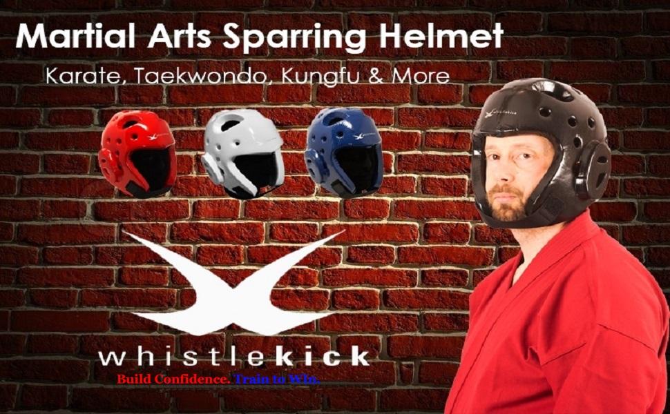 Macho Karate Dyna BLK Sparring Head Gear Helmet  Medium Tang Soo Do Tae Kwon Do