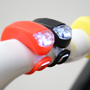 New Smark Bike Cycling Frog LED Front Head Rear Light Waterproof Lamp White GK