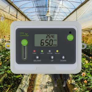 day, night, co2, monitor, controller, greenhouse