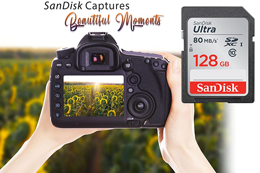 SanDisk Ultra 200GB MicroSDXC Verified for Canon PowerShot ELPH 330 HS Black by SanFlash 100MBs A1 U1 Works with SanDisk