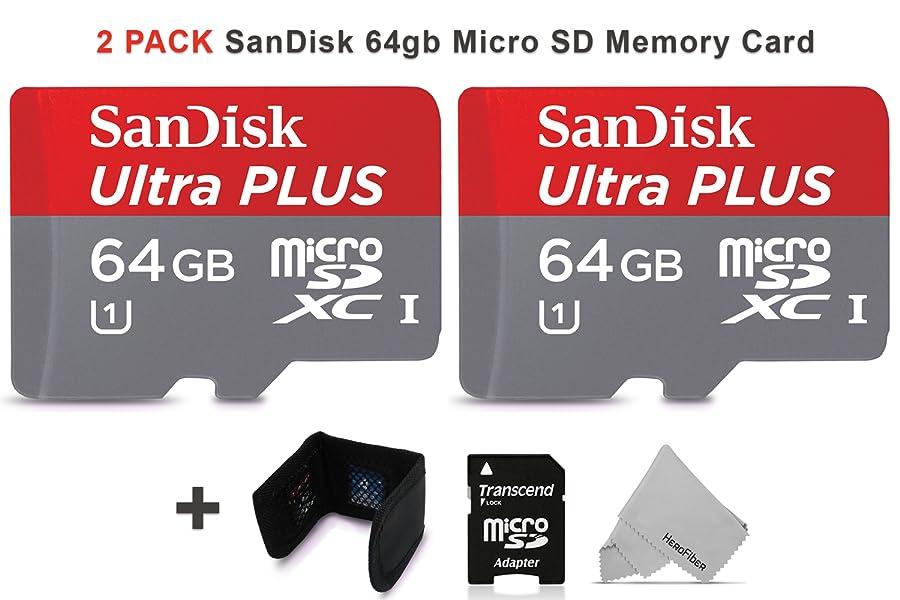 Amazon.com: SanDisk 64 GB tarjeta de memoria Micro SD ...