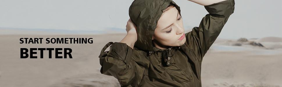 rain jacket women, windbreaker women