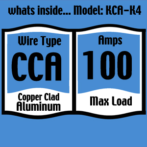 Amazon knukonceptz kca complete 4 gauge amp installation kit every knukonceptz amp installation kit clearly states these critical specs greentooth Images