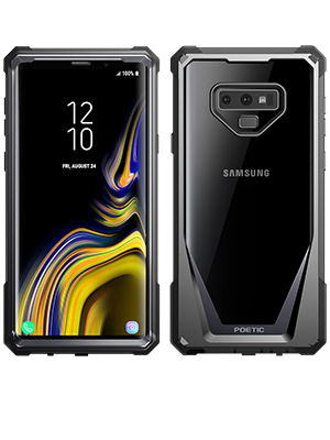 separation shoes eeb51 aeb7a Galaxy Note 9 Case, Poetic Guardian [Scratch Resistant Back] [360 Degree  Protection] Full-Body Rugged Clear Hybrid Bumper Case with Built-in-Screen  ...