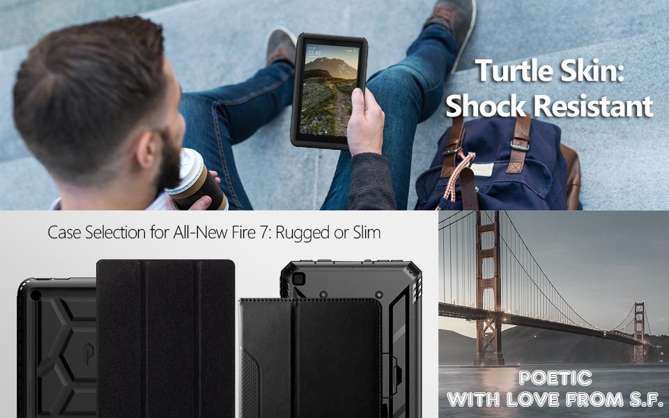 CUSTODIA COVER Integrale SMART SUPPORTO per Amazon Kindle Fire HD