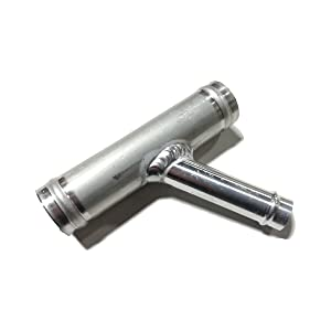 alum. connector valve