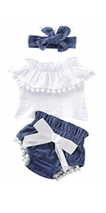 baby girl ruffled outfits