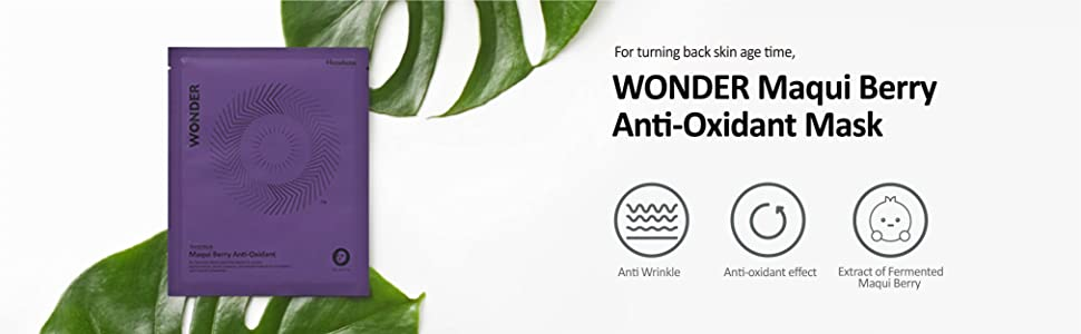 WONDER Maqui Berry anti-oxidant mask