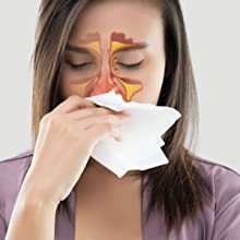 Sinus congestion, Mucus relief