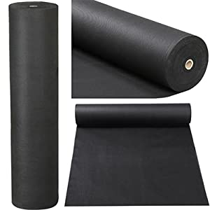 hoople landscape weed barrier fabric heavy duty dirt control gravel rock drainage staples