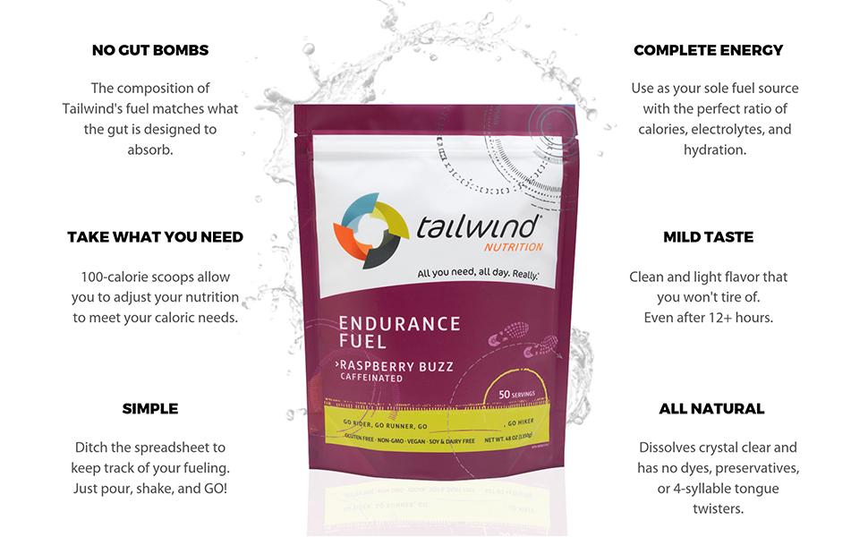 Tailwind Nutrition Caffeinated Endurance Fuel Tropical Buzz