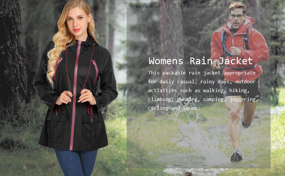 rain coats for women