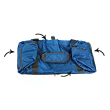 Gonex 40L Foldable Travel Bag, Suitable for 'under-the-seat' in airplanes