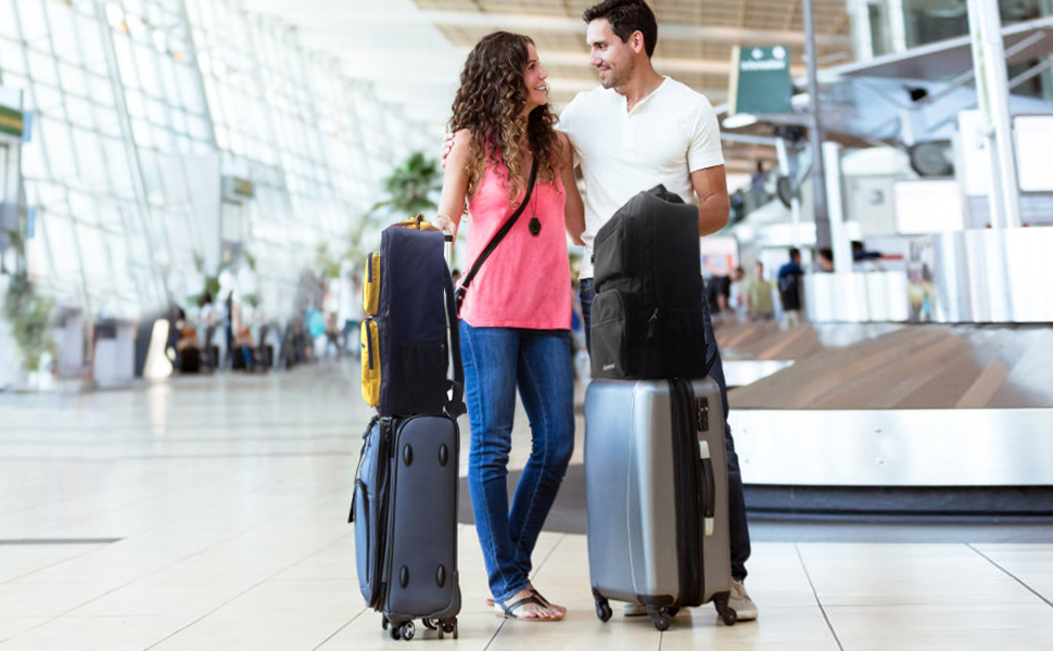 Gonex 35L Travel Backpack, Durable & Water-Repellent Oversized Backpack