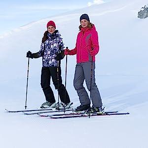 986642d01f Amazon.com: Mountain Warehouse Moon Womens Ski Pants - Warm Bib Snow ...