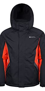 5a365bc2f6b Amazon.com   Mountain Warehouse Raptor Kids Snow Jacket - Winter Ski ...