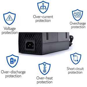 Amazon.com: Xbox One Power Supply Brick, AC Adapter