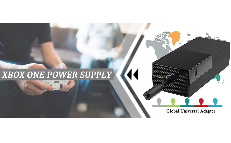 Amazon.com: Xbox One Power Supply Brick, AC Adapter