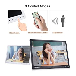 Amazon.com: Andoer – 15 inch TFT LED Digital Photo Frame ...