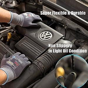 work gloves grip flexible