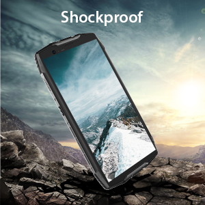 Rugged Cell Phones Unlocked, Blackview BV6800 pro 4G LTE IP68 Waterproof Smartphone 6580mAh Battery 4GB+64GB [MIL-STD-810G] Octa Core 8MP+16MP Dual ...