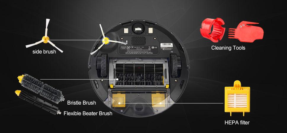 Amazon.com: efluky - Batería de repuesto para iRobot Roomba ...