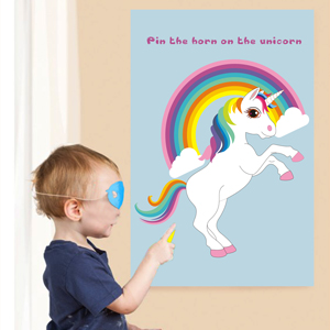 Image result for pin the unicorn