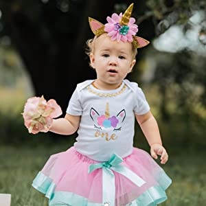 Amazon 1st Birthday Outfit Baby Girl Tutu