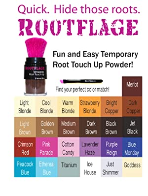 Amazon.com: Rootflage Instant Blonde Root Touch Up Hair Powder ...