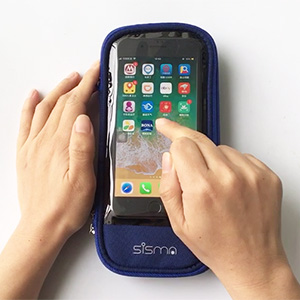 sisma Carrying Case for iPhone X 6 7 8 Plus Keeps Phone Connecting With External Battery