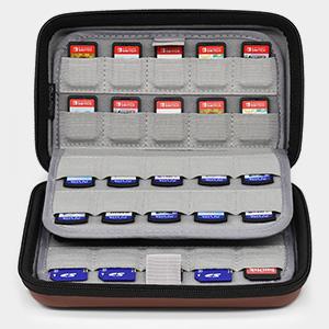 nintendo switch ps vita games case cartridge holder