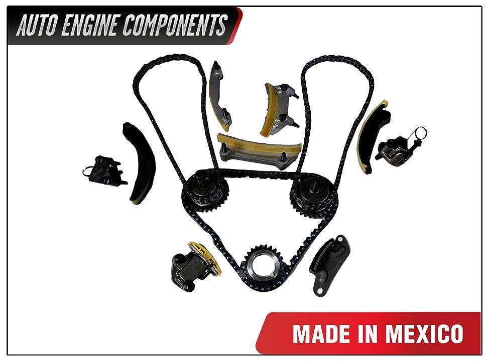 Buick LaCrosse Rendezvous Cadillac CTS SRX STS Saturn Aura Suzuki XL-7 2.8L 3.6L V6 N36A DOHC Timing Chain Kit