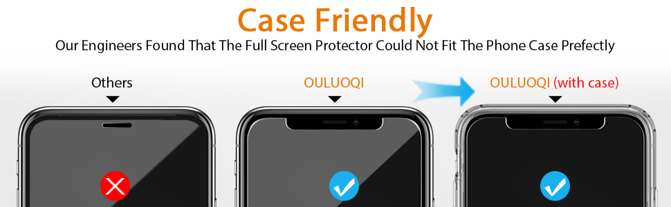 Compatible with iPhone XS Max Screen Protector 2018
