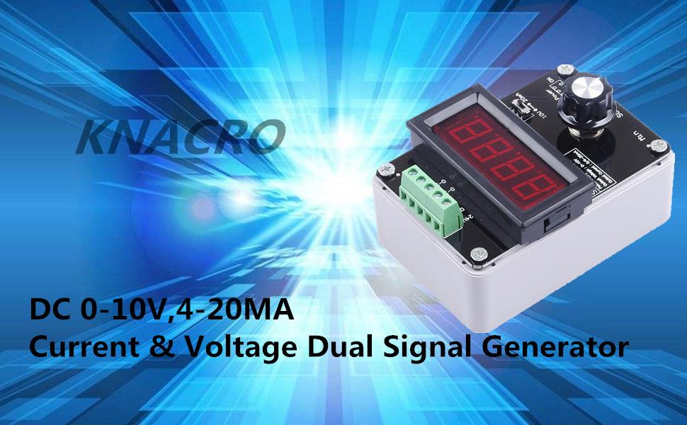 KNACRO Adjustable Current Voltage Analog Simulator