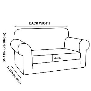 Amazon.com: Funda de sofá elástica de color turquesa, funda ...