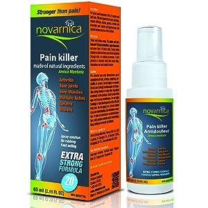 Novarnica pain reliever spray
