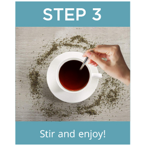 step 3 tea drops