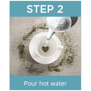 Step 2 tea drops