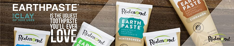 Image result for Redmond Realsalt Cinnamon Earthpaste 113 g