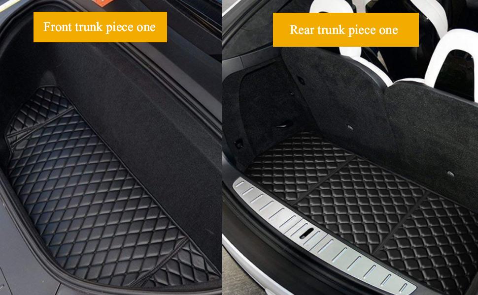 Tesla trunk mat