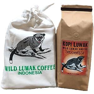Amazon.com   Kopi Luwak Coffee, Wild Gathered, 100% Pure, Whole Bean ... 0f28ca948a8