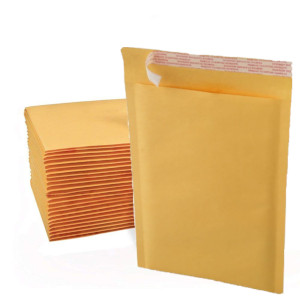 7.25 x 9.75 1000 Bags Self Adhesive Kraft Bubble Padded Shipping Mailers Envelopes