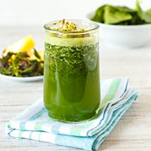 organic nettle smoothie