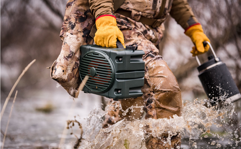 Outdoor Waterproof Speaker by Turtlebox""